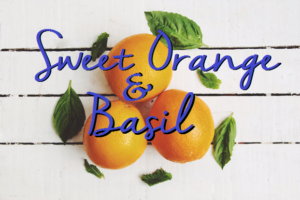 orange and basil